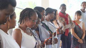 ウムチョ・ニャンザのジェノサイド犠牲者追悼式