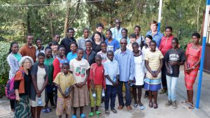 子どもたちを対象とした平和学習会の参加者